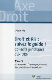 Droit et RH : suivez le guide ; conseils juridiques aux DRH t.3 ; les mesures d'accompagnement des mutations économiques - Intérieur - Format classique