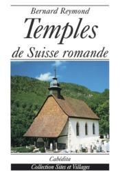 Temples De Suisse Romande - Couverture - Format classique