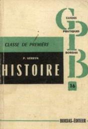 L'histoire, à l'examen probatoire, classe de 1ère, 1848-194-14 - Couverture - Format classique