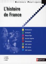 L'histoire de France - Couverture - Format classique