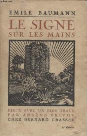 Le Signe Sur Les Mains. - Couverture - Format classique