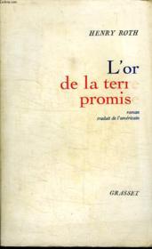 L Or De La Terre Promise. - Couverture - Format classique