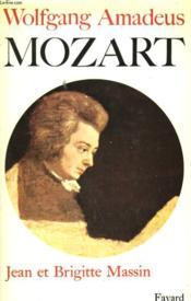 Wolfgang Amadeus Mozart. - Couverture - Format classique
