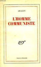 L'Homme Communiste. - Couverture - Format classique