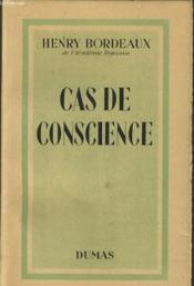 Cas De Conscience - Couverture - Format classique