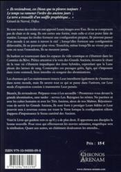 Necronomicon ; liber septimus - 4ème de couverture - Format classique