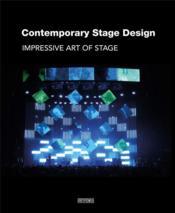 Contemporary stage design - Couverture - Format classique