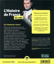 L'histoire de France pour les nuls (3e édition) - 4ème de couverture - Format classique