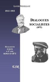 Dialogues Socialistes - Couverture - Format classique