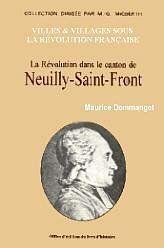 Neuilly-Saint-Front (La Revolution Dans Le Canton De) - Couverture - Format classique