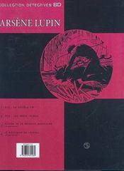 Arsène Lupin t.2 ; 813 : les trois crimes - 4ème de couverture - Format classique