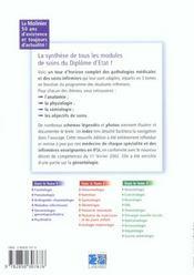 Pathologie Medicale Et Pratique Infirmiere Tome 1 Nouvelle Edition - 4ème de couverture - Format classique