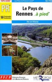 Pays de rennes a pied 2005 pr - Couverture - Format classique