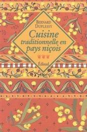 Cuisine traditionnelle en pays niçois - Couverture - Format classique