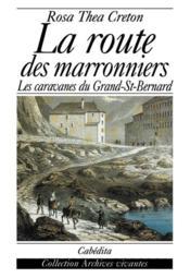 Route des marronniers (la) - Couverture - Format classique