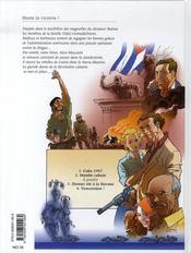 Hasta la victoria t.2 ; mambo cubain - 4ème de couverture - Format classique