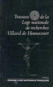 Travaux de la loge nationale de recherches Villard de Honnecourt n°22 - Couverture - Format classique