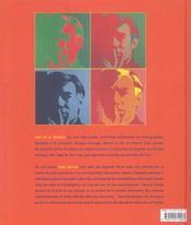 Andy Warhol, un mythe américain - 4ème de couverture - Format classique