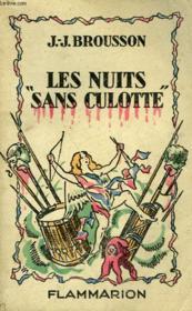 Les Nuits Sans Culotte. - Couverture - Format classique