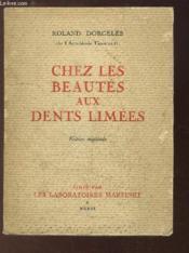 Chez les Beautés aux dents limées. - Couverture - Format classique