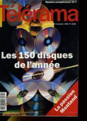 Telerama Numero Exceptionnel N°2184 - Les 150 Disques De L'Annee - Couverture - Format classique