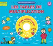 Apprends en chantant ! les tables de multiplication - Couverture - Format classique