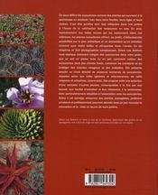 Jardins de succulentes - 4ème de couverture - Format classique