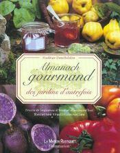Almanach gourmand des jardins d'autrefois - Intérieur - Format classique
