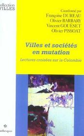 Villes Et Societes En Mutation - Intérieur - Format classique