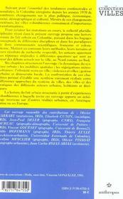 Villes Et Societes En Mutation - 4ème de couverture - Format classique