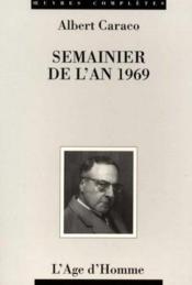 Semainier 1969 - Couverture - Format classique