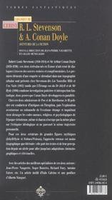 Robert louis stevenson et arthur conan doyle ; aventure de la fiction - 4ème de couverture - Format classique
