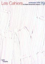 Cahier du musee national d'art moderne t.79 - Intérieur - Format classique