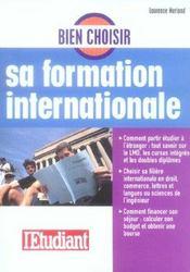 Bien choisir sa formation internationale 2006 - Intérieur - Format classique