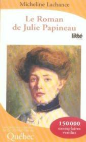 Le roman de julie papineau t.1 ; la tourmente - Couverture - Format classique