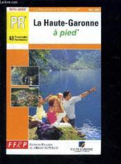 La Haute Garonne A Pied - Couverture - Format classique