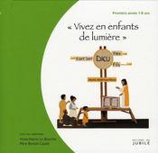 Vivez en enfants de lumière ; première année 7-8 ans ; livre du catéchiste - Intérieur - Format classique