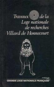 Travaux de la loge nationale de recherches Villard de Honnecourt n°23 - Couverture - Format classique