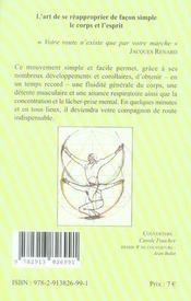 Petit manuel de la marche immobile - 4ème de couverture - Format classique