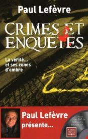 telecharger Crimes et enquetes – la verite… et ses zones d'ombre livre PDF/ePUB en ligne gratuit