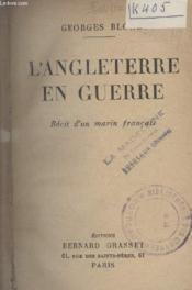 Langleterre En Guerre. - Couverture - Format classique