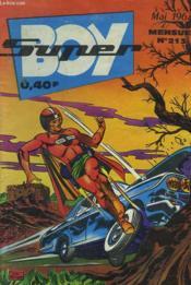 Super Boy. Mensuel N°213. Fantome En Conserve. - Couverture - Format classique