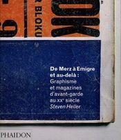 De Merz A Emigre - Graphisme Et Magazines D'Avant-Garde Au Xxe Siecle - Intérieur - Format classique