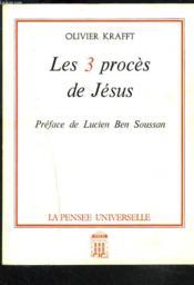 Les 3 Procès De Jésus - Couverture - Format classique