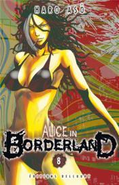 Alice in Borderland T.8 - Couverture - Format classique