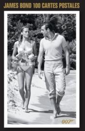 James Bond ; 100 cartes postales - Couverture - Format classique