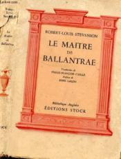 Le Maitre De Ballantrae - Couverture - Format classique