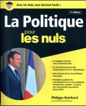 Politique pour les nuls (4e édition) - Couverture - Format classique