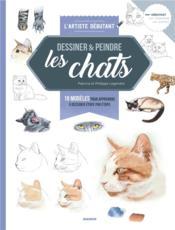 Dessiner & peindre les chats - Couverture - Format classique