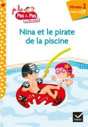 Nina et le pirate de la piscine - Couverture - Format classique